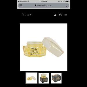 Other - Faccia gold moisturizer / new